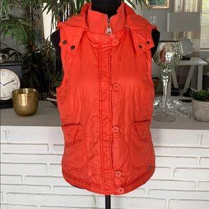 NAF NAF Orange Vest Jacket 🧡